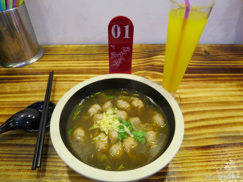 中国 青島 城陽区 食事
