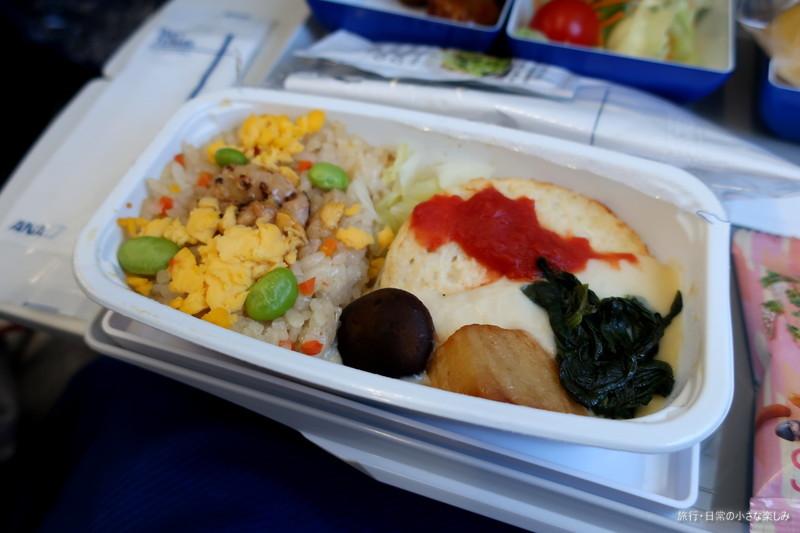 NH977 機内食 関西 青島