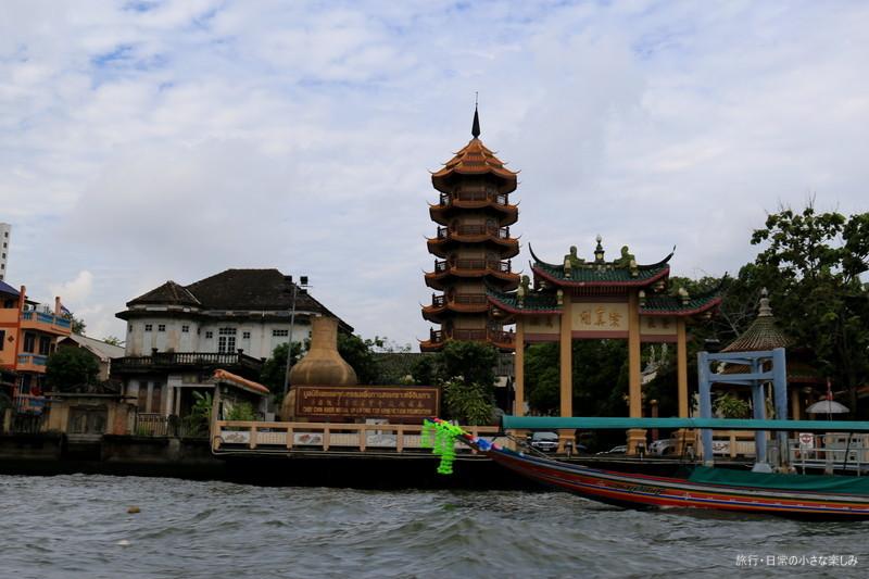 タイ バンコク 渡し船 ワット・アルン 高速船