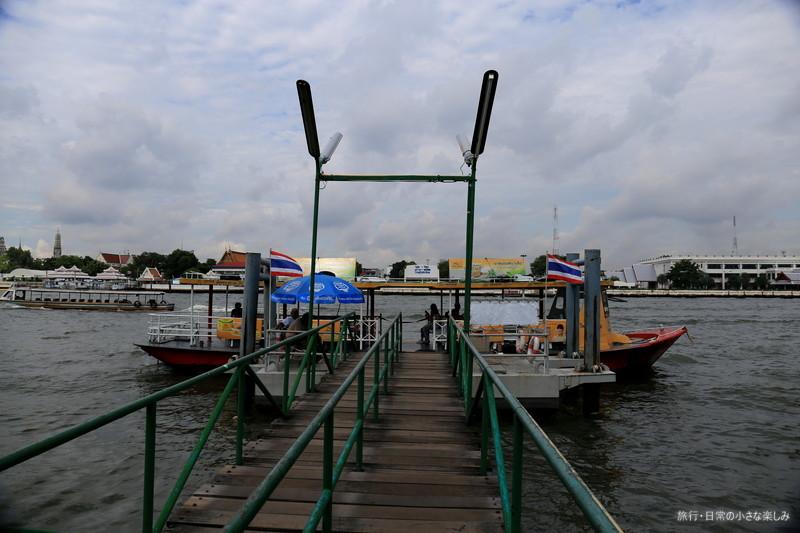 ワット・アルン 渡し船で行く方法