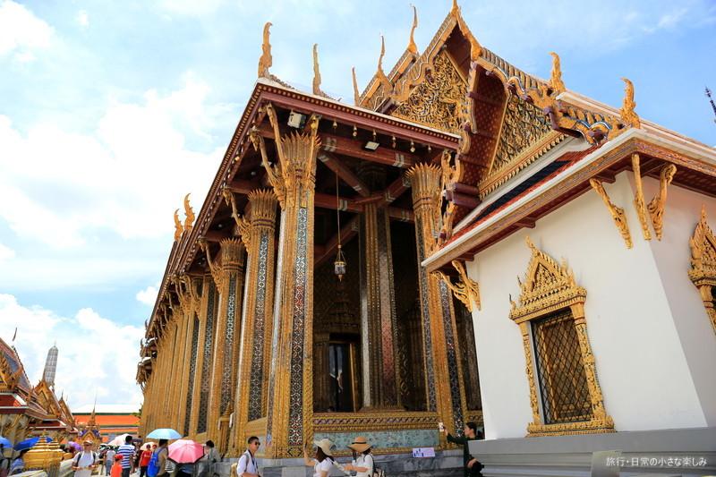 タイ ワット・プラケオ(王宮) 観光 夏