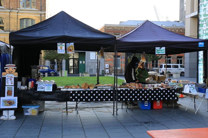 シティ・ファーマーズ・マーケット(City Farmer's Market) オークランド 土曜日 マーケット