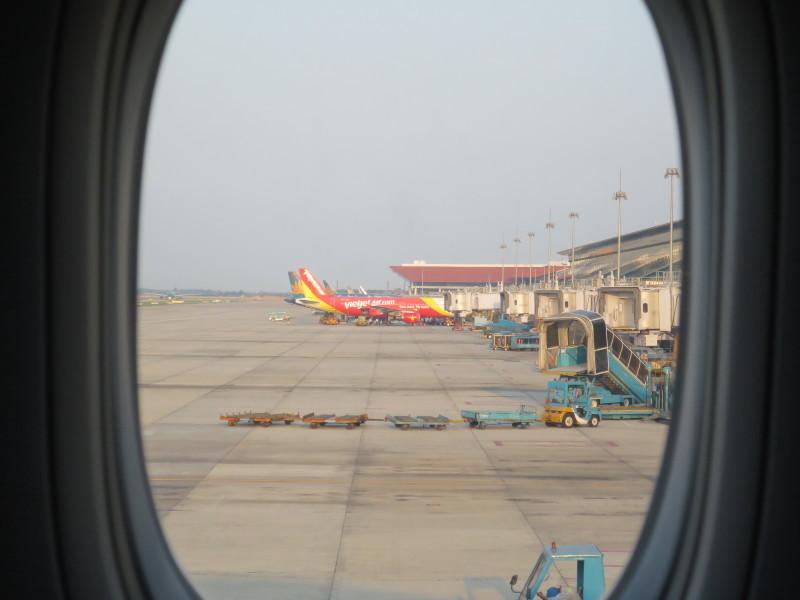カタール航空 QR835 ビジネスクラス 搭乗記 ハノイ バンコク