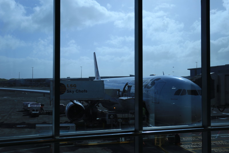 カンタス航空 機内食 QF146 シドニー オークランド