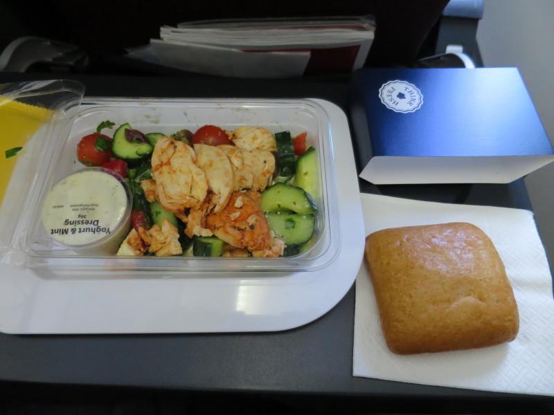 カンタス航空 QF143 シドニー オークランド 機内食