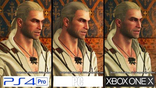 『ウィッチャー 3』 XboxOneXvsPS4ProvsPCグラフィック比較!最強のグラフィックマシンはどれだ