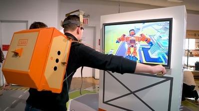 『ニンテンドーラボ』実機プレイ映像が公開、大人がダンボールで遊んでる絵面があまりにも酷いwww