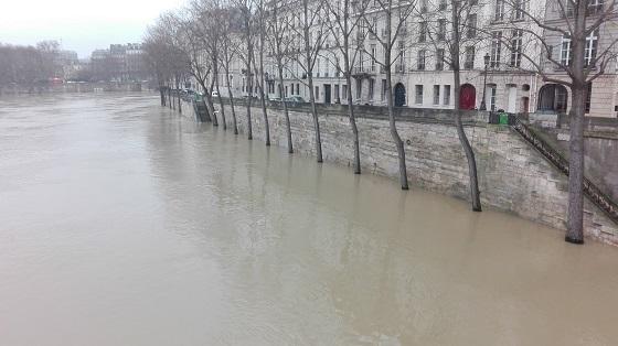 セーヌ川氾濫?