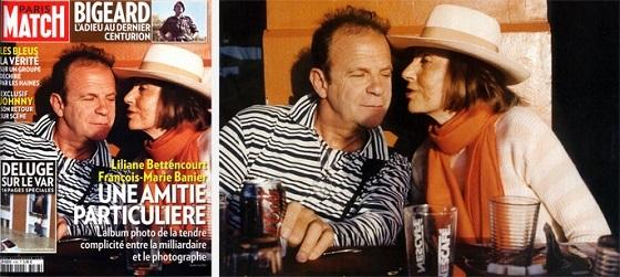 リリアンヌ・ベタンクール&フランソワ=マリー・バニエ