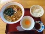 ラーメンセット@のぼり食堂