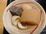 おでん(玉子×2、大根、こんにゃく)@はなまるうどん大阪江坂店