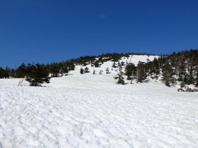 八幡平 頂上に向かう遊歩道