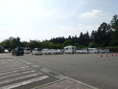 道の駅富士吉田 駐車場
