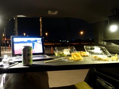 道の駅ヘルシーテラス佐久南 夕食はお惣菜で