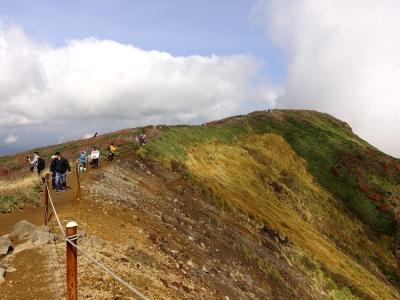 栗駒山 山頂付近