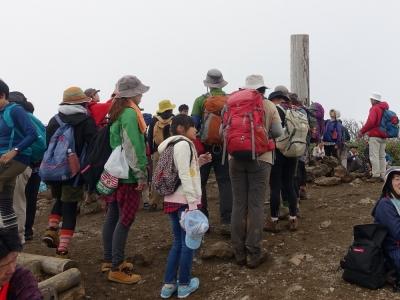 栗駒山 山頂
