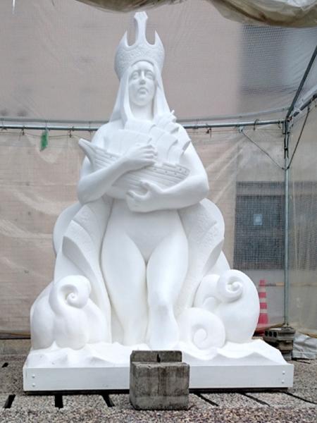 塩の像(海の女神)
