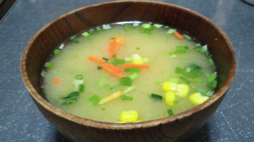 ひかり味噌彩り野菜