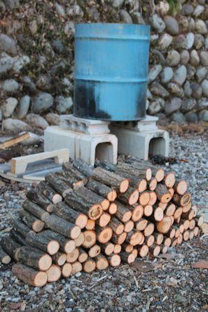 20180217キノコの森づくりマイタケ原木栽培