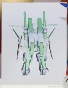MG 強化型ダブルゼータガンダム Ver.Ka 全日本模型ホビーショー2017 0311