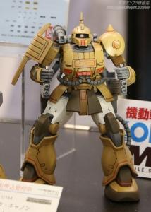 HG ザク・キャノン テストタイプ 全日本模型ホビーショー2017 0405