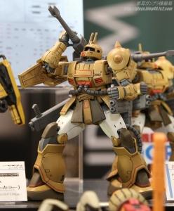 HG ザク・キャノン テストタイプ 全日本模型ホビーショー2017 0404