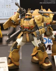 HG ザク・キャノン テストタイプ 全日本模型ホビーショー2017 0402