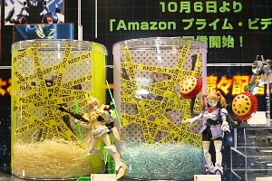 ガンプラコスヒロインズのふみなとギャン子の新作 全日本模型ホビーショー2017 06t