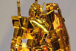 HG ガンダムベース限定景品 RX-78-2 ガンダム [ゴールドコーティング]t