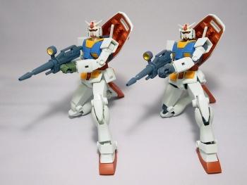 ROBOT魂 RX-78-2 ガンダム ver. A.N.I.M.E. ~ファーストタッチ2500~」レビュー1