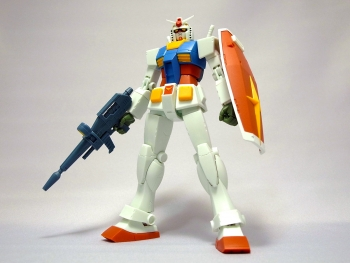 ROBOT魂 RX-78-2 ガンダム ver. A.N.I.M.E. ~ファーストタッチ2500~」レビュー3