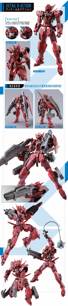 METAL BUILD ガンダムアストレア TYPE-F (GN HEAVY WEAPON SET)05