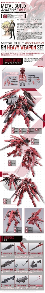 METAL BUILD ガンダムアストレア TYPE-F (GN HEAVY WEAPON SET)03