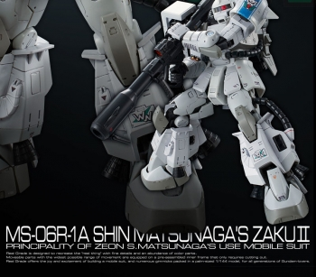 RG MS-06R-1A シン・マツナガ専用ザクII (7)