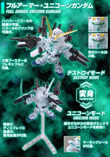 BB戦士 ガンダムベース限定 フルアーマー・ユニコーンガンダム&ネオ・ジオング[クリアカラー]の商品説明画像 (3)