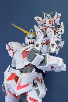 メガサイズモデル 148 ユニコーンガンダム(デストロイモード) (3)