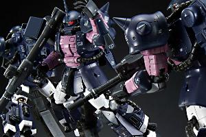 【トリプルアクションベース付き】RG 黒い三連星専用ザクII 3機セットt