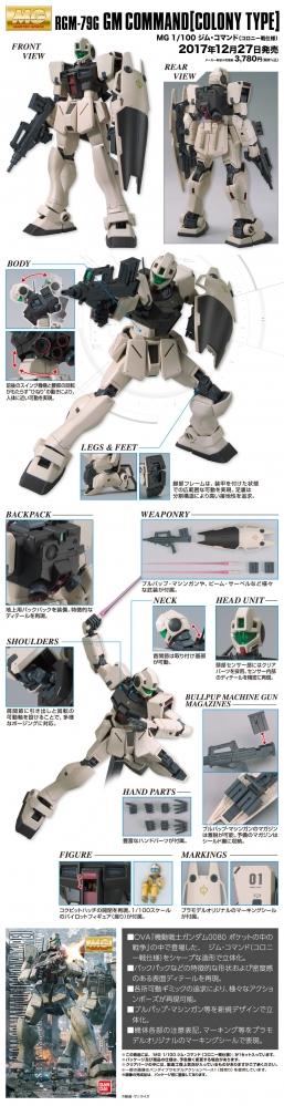 MG ジム・コマンド(コロニー戦仕様)の商品説明画像