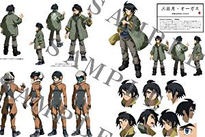 機動戦士ガンダム 鉄血のオルフェンズ キャラクターコンプリートブックt (2)