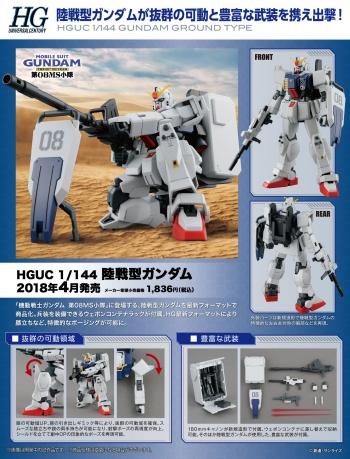 HGUC 陸戦型ガンダムの商品説明画像