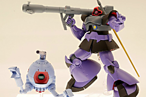 ROBOT魂 〈SIDE MS〉 MS-09R リック・ドム&RB-79 ボール ver. A.N.I.M.E.t