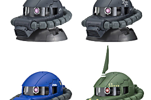 機動戦士ガンダムEXCEED MODEL ZAKU HEAD 4t