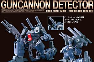 RE100 ガンキャノン・ディテクターのキット解説画像t