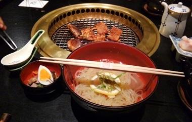 15焼けた&冷麺