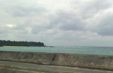 06海の色