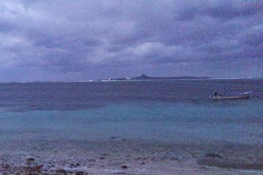 17夜の海