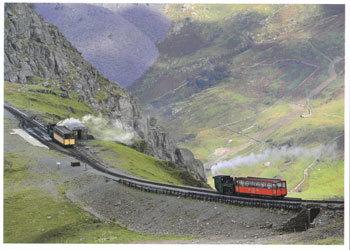 ウェールズ、ハンガーでのスノードン登山鉄道へ行きバスの乗り方!