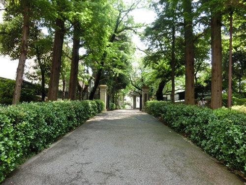 文京区春日の高級感ある三井本家邸跡、川口アパート、徳川慶喜屋敷跡