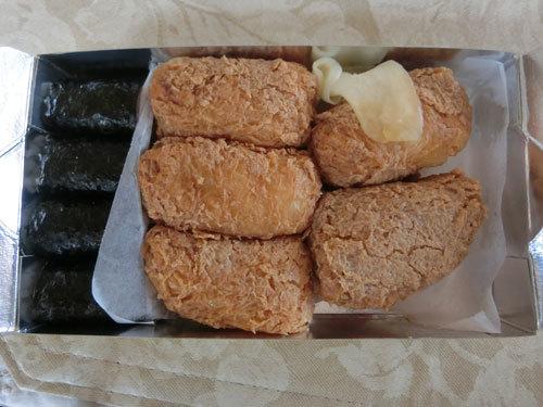 「おつな寿司」(六本木)で絶品のお稲荷さんでニコニコ顔!