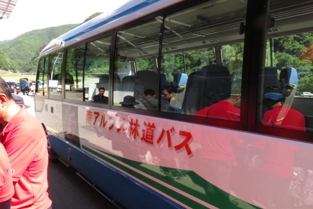 甲斐駒_登山道_臨時バス